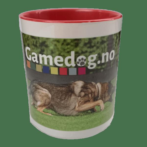Gamedog.no krus rød