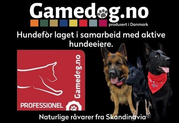 Gamedog - Det er fri frakt ved ordre over kr 500,-.