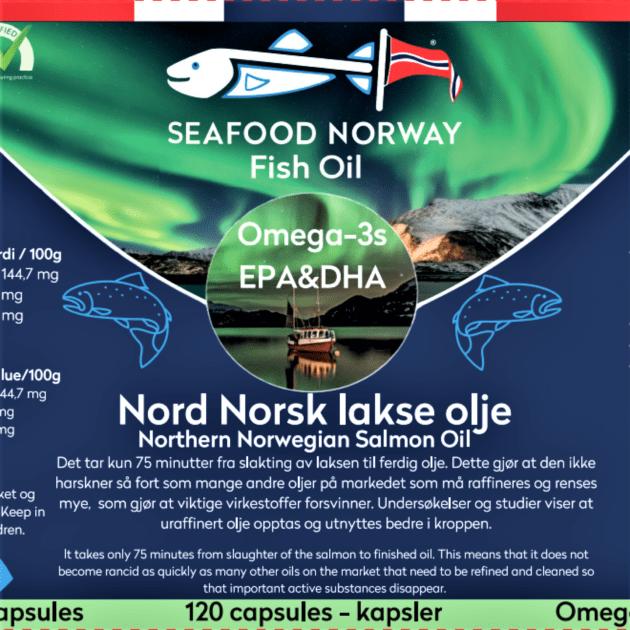 Seafoodnorway Omega3 kapsler