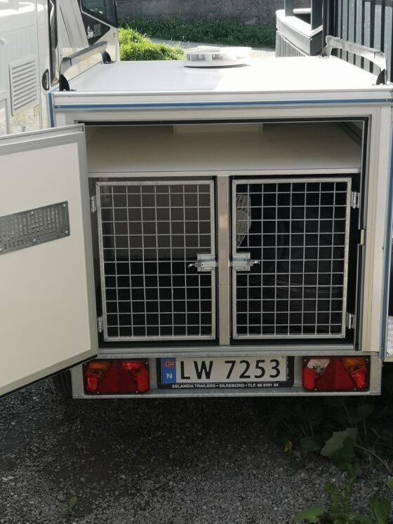 Vare-hundehenger B-sertifikat